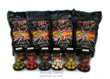 Top Secret Satisfaction Boilie Range Ø16-30mm Boilies und Premium PopUps