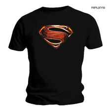 Official T Shirt SUPERMAN Logo MAN OF STEEL Movie All Sizes