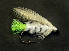 3x, 6x or 12x Fly Fishing Trout Flies (ML17) WHITE VIVA MINI LURE Trout Fly