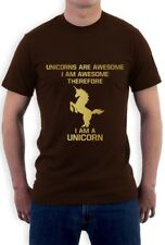 I'm a Unicorn T-Shirt Always be Yourself WASTED YOUTH Hipster Geek Cute Awesome