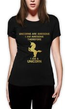 I'm a Unicorn Women T-Shirt Always be Yourself WASTED YOUTH Hipster Geek Cute