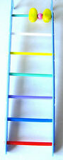 1496 BLUE BIRD TOY LADDER cockatiels parakeets finch toys canary cages budgies