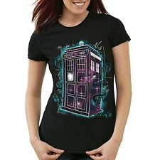 Dr. Doktor Who Space T-Shirt Damen dalek dr police who doctor tardis box tv