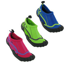 Beach Water Sea Shoes Kids Infants Boys Girls Summer Holiday Toggle  UK10-2.5