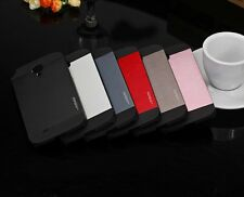 MOTOMO Brushed Aluminum Metal PC Back Cover Case For Samsung Galaxy S4 i9500