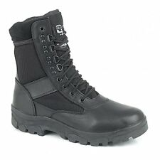 Grafters G-FORCE Mens Womens Ladies Leather Thinsulate Casual Combat Boots Black