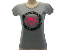 "Maglietta Maglia T-Shirt "" Keep Calm And Rock On  "" Originale Solo Parole"