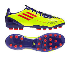 low priced c9c9c 4c6c5 Adidas F10 MG Yellow Moulded Studs Mens Football Boots Soccer Trainers  UK6-12