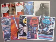 Vintage Star Wars Outsider UK Fan Club Magazines Lots Take Your Pick