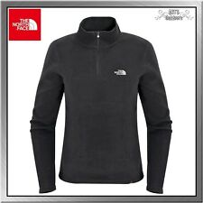 The North Face 100 Glacier 1/4 Zip Damen Fleece Pullover TNF black