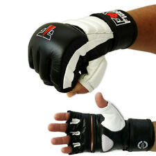 FOX-FIGHT FF mma Handschuhe  Leder freefight ufc Grappling Boxhandschuhe