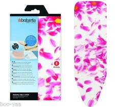 Brabantia Ironing table cover Pink Santini board 4mm Foam+Felt all Size