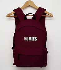 HOMIES BAG BACK PACK ASAP ROCKY STREETWEAR COMPANY SWAG DOPE HIPSTER SCHOOL