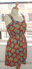 Baylis Knight Shop Ethnic Mini SUN Dress Handmade cute Red Blue Green in Top