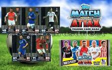 Match Attax 2014-2015 14/15 - LIMITED EDITION CARDS - GOLD - SILVER - BRONZE