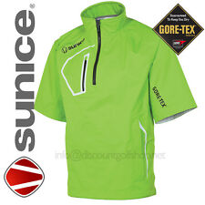 Sunice Goretex Elmont Waterproof Paclite Mens TrimFit Green Golf Jacket £89.99 !