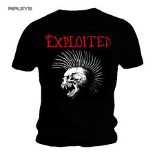 Official T Shirt THE EXPLOITED Skull BEAT The Bastards Punk All Sizes