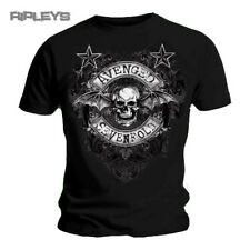 Official TShirt AVENGED SEVENFOLD Deathbat Logo STARS Flourish All Sizes