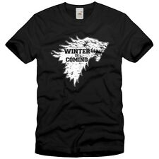 Winter is Coming Herren T-Shirt game stark of winterfell thrones ned winter