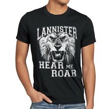 Lannister T-Shirt Herren hear me roar game wappen thrones of bluray tyrion