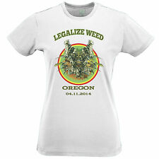 Legalize It Oregon T Shirt Cheese Zoot Cannabis Weed Medical Marijuana Law Vote