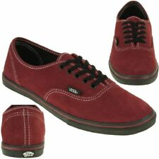 VANS Classic Authentic Lo Pro Sneaker Skater Leder red NEW