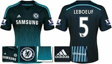 *14 / 15 - ADIDAS ; CHELSEA 3rd KIT SHIRT SS + PATCHES / LEBOEUF 5 = SIZE*