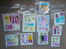 NEW LEGO STICKER SHEET SET DECALS LOGO TRANSFER ONLY. NO LEGO. CHOOSE 1 YOU WANT