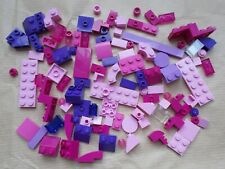 NEW GIRLS LEGO FRIENDS 100 PIECE BRICK STARTER ADD ON PACK ALL PINK & PURPLE L1