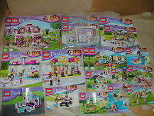 BRAND NEW GIRLS LEGO FRIENDS INSTRUCTIONS ONLY - NO LEGO CHOOSE THE 1 YOU WANT