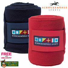 Schockemohle Fleece Bandages (1211-00002) **BNWT** **FREE UK SHIPPING**