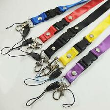 Neck Strap Lanyard for Camera Mp3 ID Cell Phone 5 Color CSA074 1 2 5 pcs B