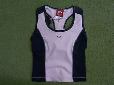 Oakley Womens Racer Back Tank Top for running, fitness, yoga, gym, cycling
