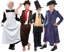 Boys Girls Victorian Fancy Dress Costume Poppins Servant Chimney Sweep Brunel