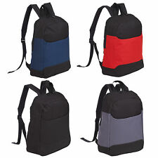 Rainproof Padded Backpack Rucksack School Travel Bag Adjustable Shoulder Strap