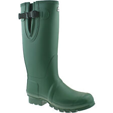 MENS HI-TEC NEOPRENE LINED WELLINGTON BOOTS SIZE UK 8 - 10 WELLIES GREEN NEO