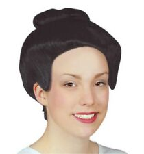 Adult Ladies Geisha Wig for Oriental Chinese Japanese Fancy Dress Accessory