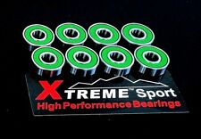 608 RS ABEC 11 XTREME HIGH PERFORMANCE BEARINGS LONGBOARD SKATEBOARD SCOOTER*