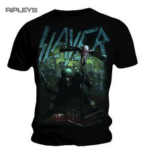 Official T Shirt SLAYER Skeleton SOLDIER CROSS Metal Distressed All Sizes