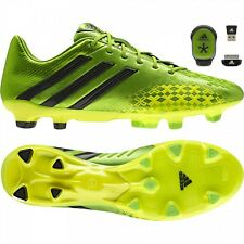 adidas Mens Predator LZ TRX FG Football Boots MiCoach Included - Green rrp£220