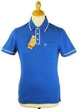 SALE! ORIGINAL PENGUIN EARL TIPPED POLO SHIRT (SNORKEL BLUE) OPKS4274 - h147