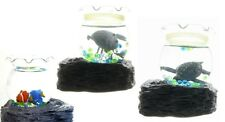 NEW MOVING FISH IN BOWL MAGNETIC BATTERY OPERATED DESK WATER FEATURE