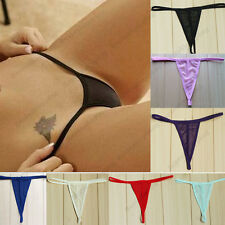 Womens Ladies Sexy Thongs G-string V-string Panties Knickers Lingerie Underwear