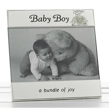 """Baby Gift Baby Boy or Baby girl Message Photo Frame NEW Baby Gift  6x4"""""""