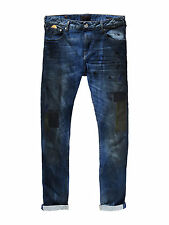 Scotch&Soda Skim Dirty Trick  Jeans Skinny Fit  NEU Spray-Effekte Herren NEU