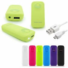 5600mAh Power Bank Portable Rechargeable USB Charger iPad iPod iPhone Universal