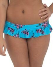 Curvy Kate Beach Bloom Skirted Bikini Brief Blue Topaz8-22 Womens