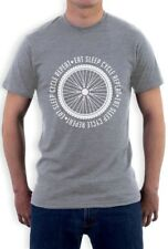 Eat Sleep Cycle Repeat - Cycling Bike Cool T-Shirt Gift Idea