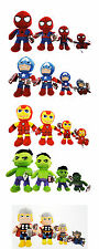 Peluche Spiderman Capitan America Iron Man Hulk Thor Originali Marvel 5 misure