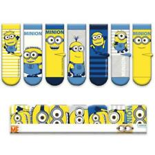 DESPICABLE ME MINIONS 7 PACK KIDS SOCKS OFFICIAL GIFT PACK NEW